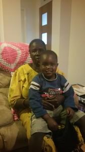 Adaul and grandson